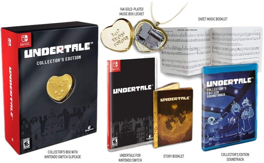 Undertale Collectors Edition SWITCH