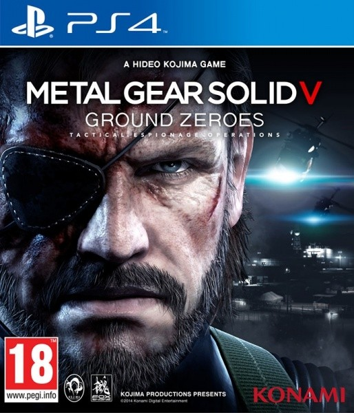 Metal Gear Solid V Ground Zeroes | MGS 5 Ground Zeroes б/в PS4
