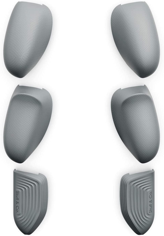 Сменные накладки-рукоятки Skull & Co. Interchangeable Lite Grip Set for GripCase Lite: Snap/Trigger/Plus Grips для SWITCH Lite Серый