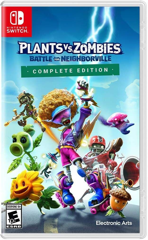 Plants vs. Zombies: Битва за Нейборвіль | Plants vs Zombies Battle for Neighborville Complete Edition SWITCH