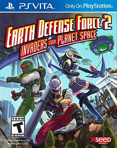Earth Defense Force 2: Invaders from Planet Space PSV