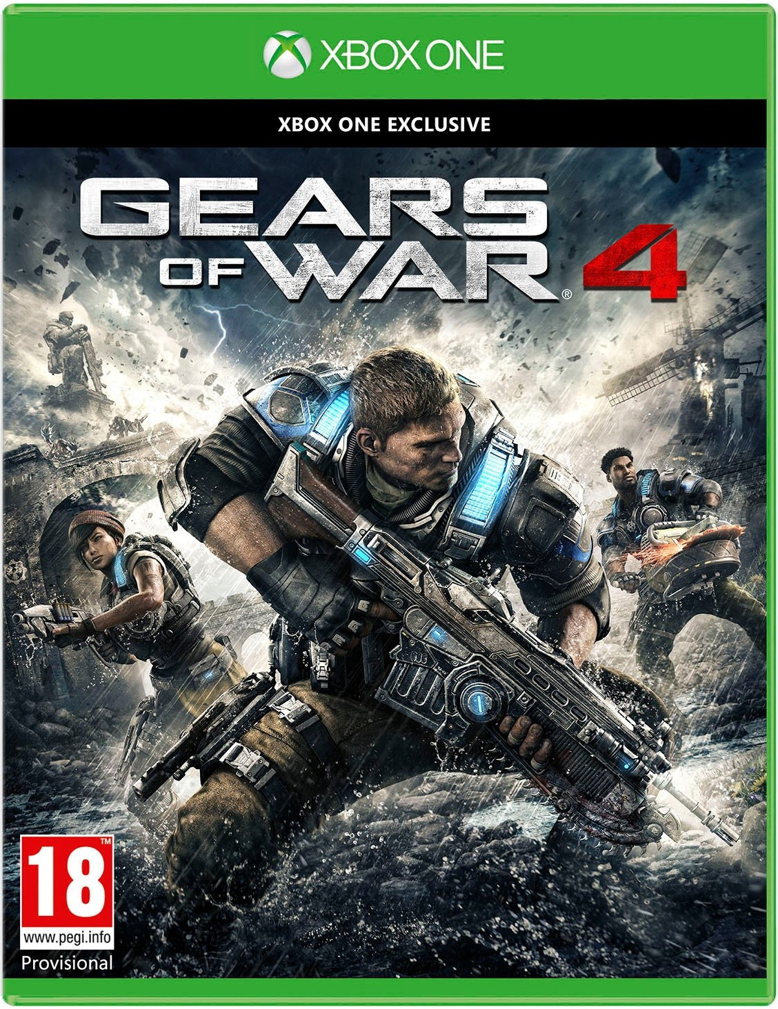 Gears of War 4 б/у XONE