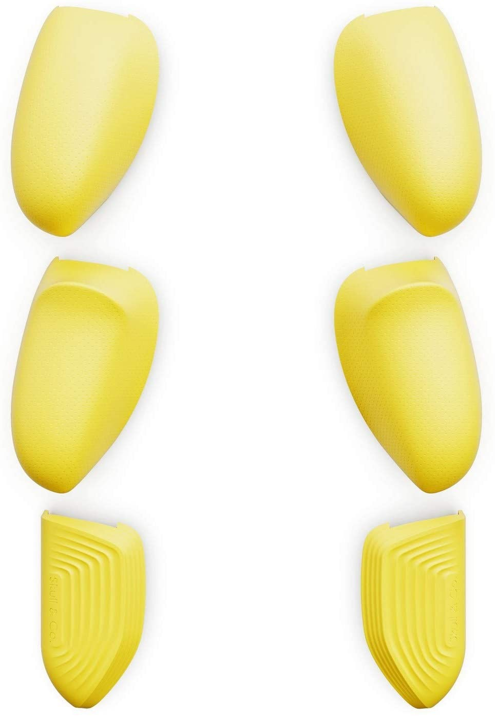 Змінні накладки-рукоятки Skull & Co. Interchangeable Lite Grip Set for GripCase Lite: Snap/Trigger/Plus Grips для SWITCH Lite Жовтий