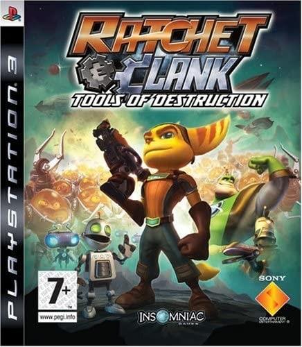 Ratchet & Clank Future Tools of Destruction б/в PS3