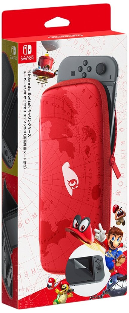 Чохол і захисна плівка Nintendo Switch Super Mario Odyssey Carrying Case and Screen Protector SWITCH