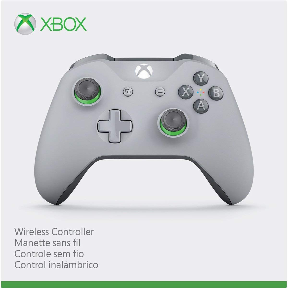 Бездротовий контролер/джойстик/геймпад Xbox ONE Wireless Controller Grey/Green (сiрий/зелений)