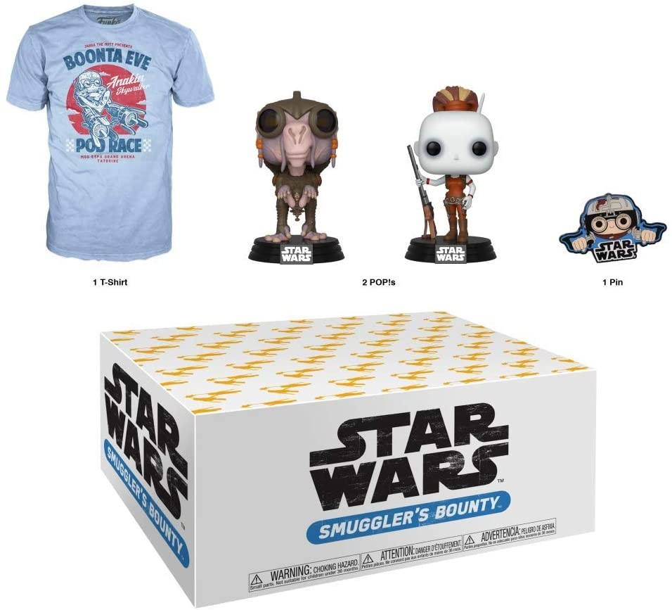 Funko Star Wars Smuggler's Bounty Subscription Box | Набор Funko POP!