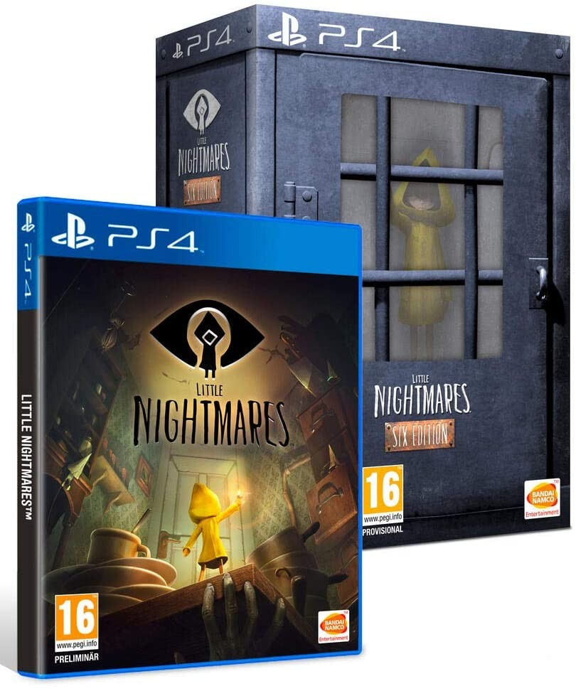 Little Nightmares Collector's Edition | Six Edition б/у PS4