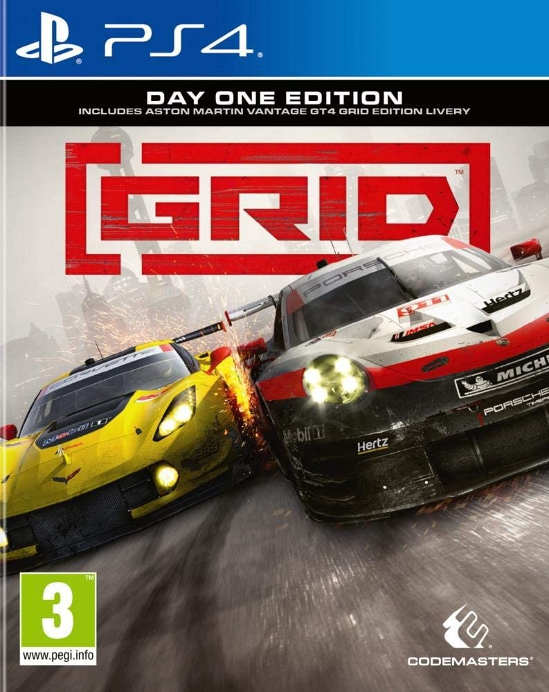 GRID (Day One Edition) PS4