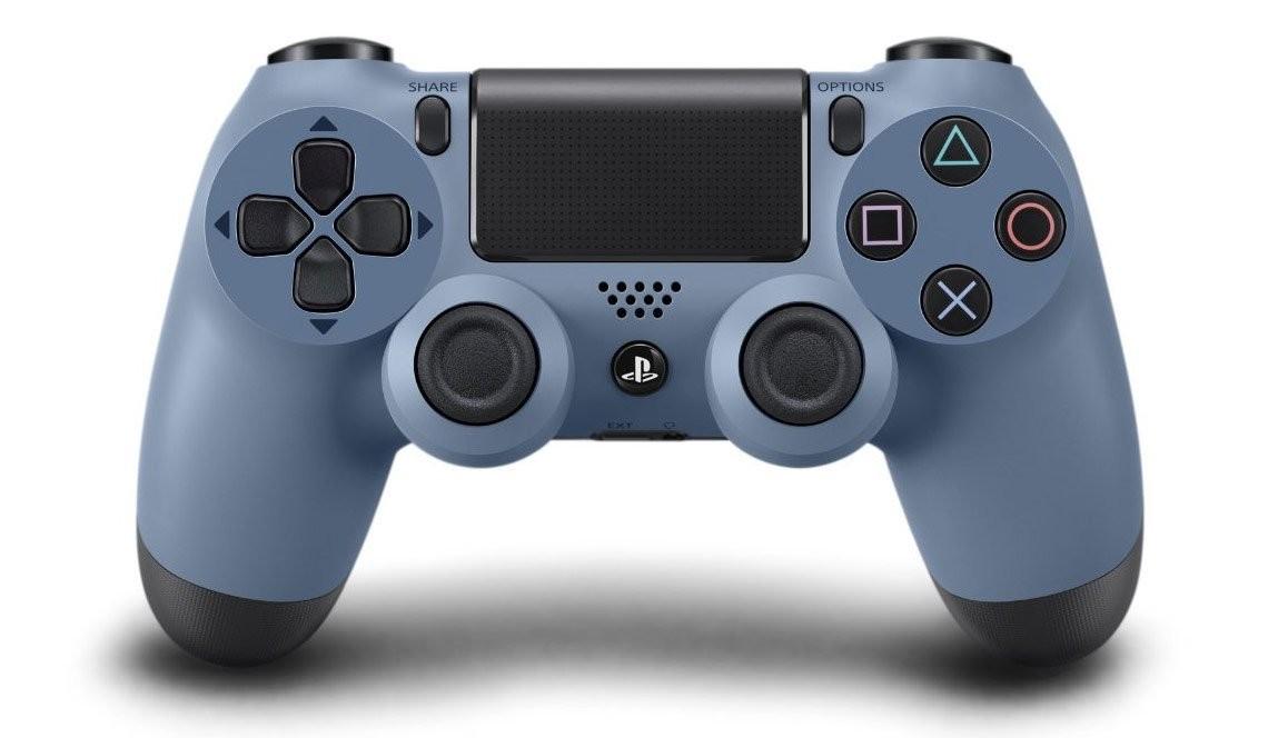 Бездротовий контролер/джойстик/геймпад DualShock 4 Wireless Controller Gray Blue V1