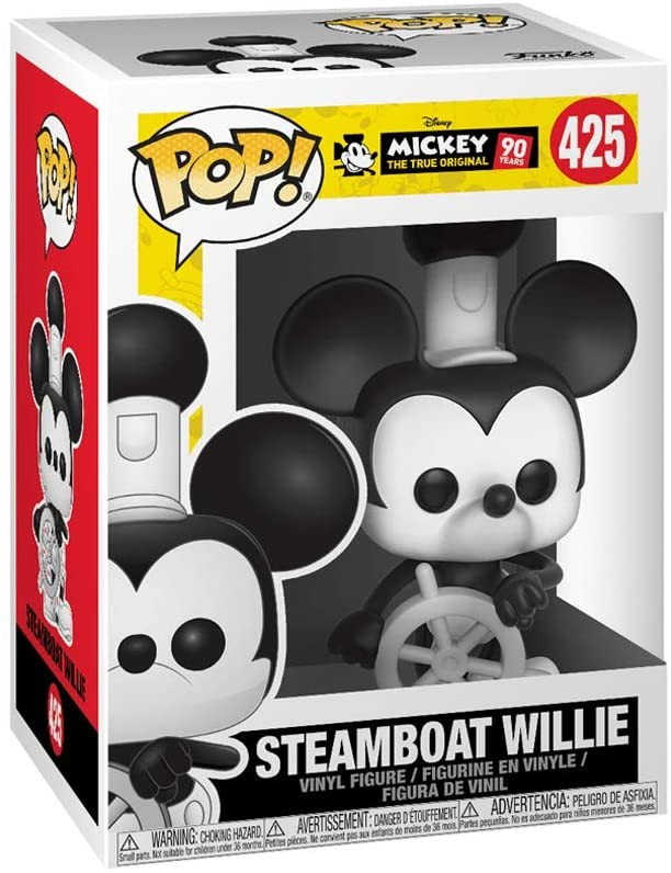 Funko Pop Disney: Mickey's 90Th - Steamboat Willie Vinyl Figure | Фигурка Funko POP!