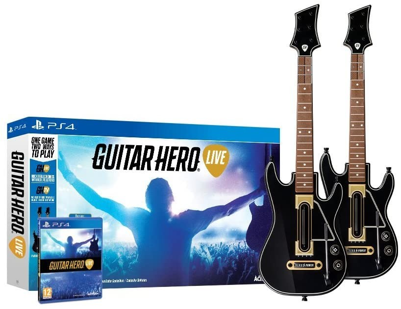 Guitar Hero Live with Double Guitar Controller | з двома гітарами PS4