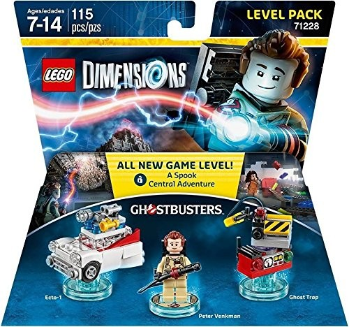 LEGO Dimensions Level Pack - Ghostbusters | Мисливці за привидами LEGO Виміри