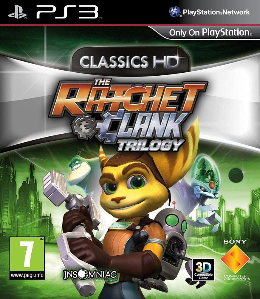 The Ratchet & Clank Trilogy б/в PS3