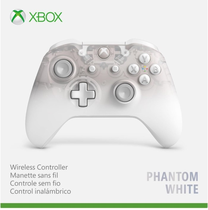 Бездротовий контролер/джойстик/геймпад Xbox - Phantom White особливої серії | XBOX ONE Wireless Controller Phantom White Special Edition