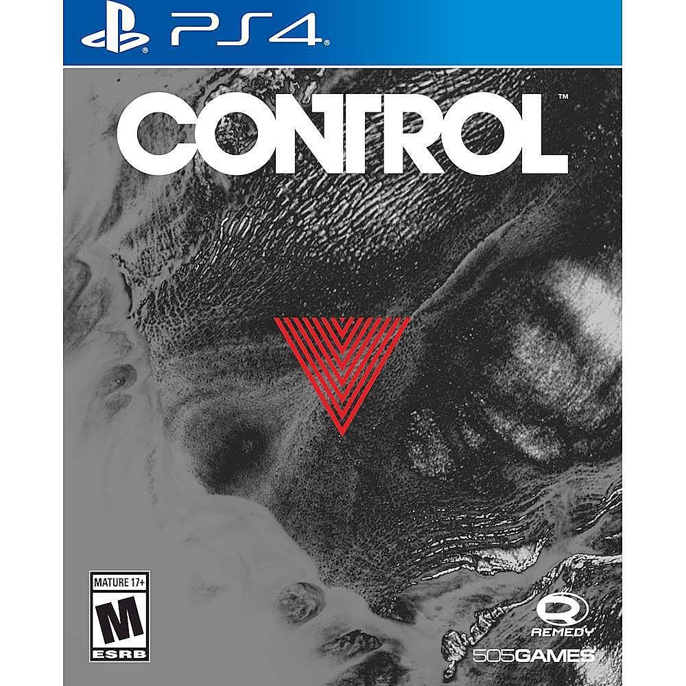 Control Deluxe Steelbook Edition PS4