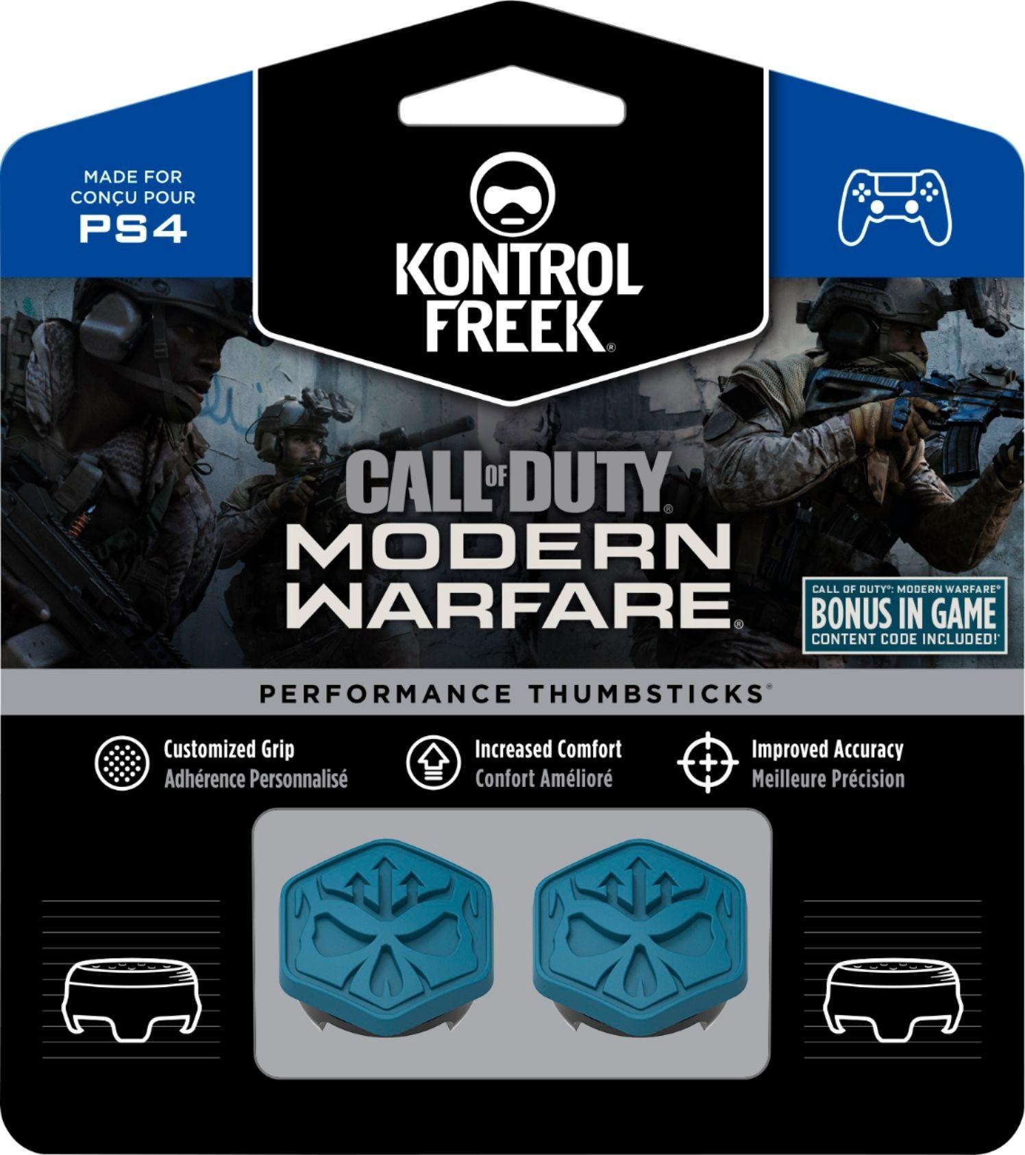 Call of Duty Modern Warfare KontrolFreek | Performance Thumbsticks | Накладки на стики PS4/PS5