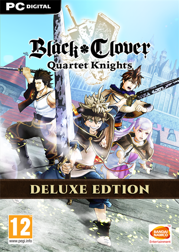 Black Clover: Quartet Knights - Deluxe Edition PC DIGITAL