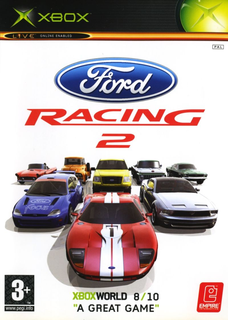 Ford Racing 2 б/у XBOX