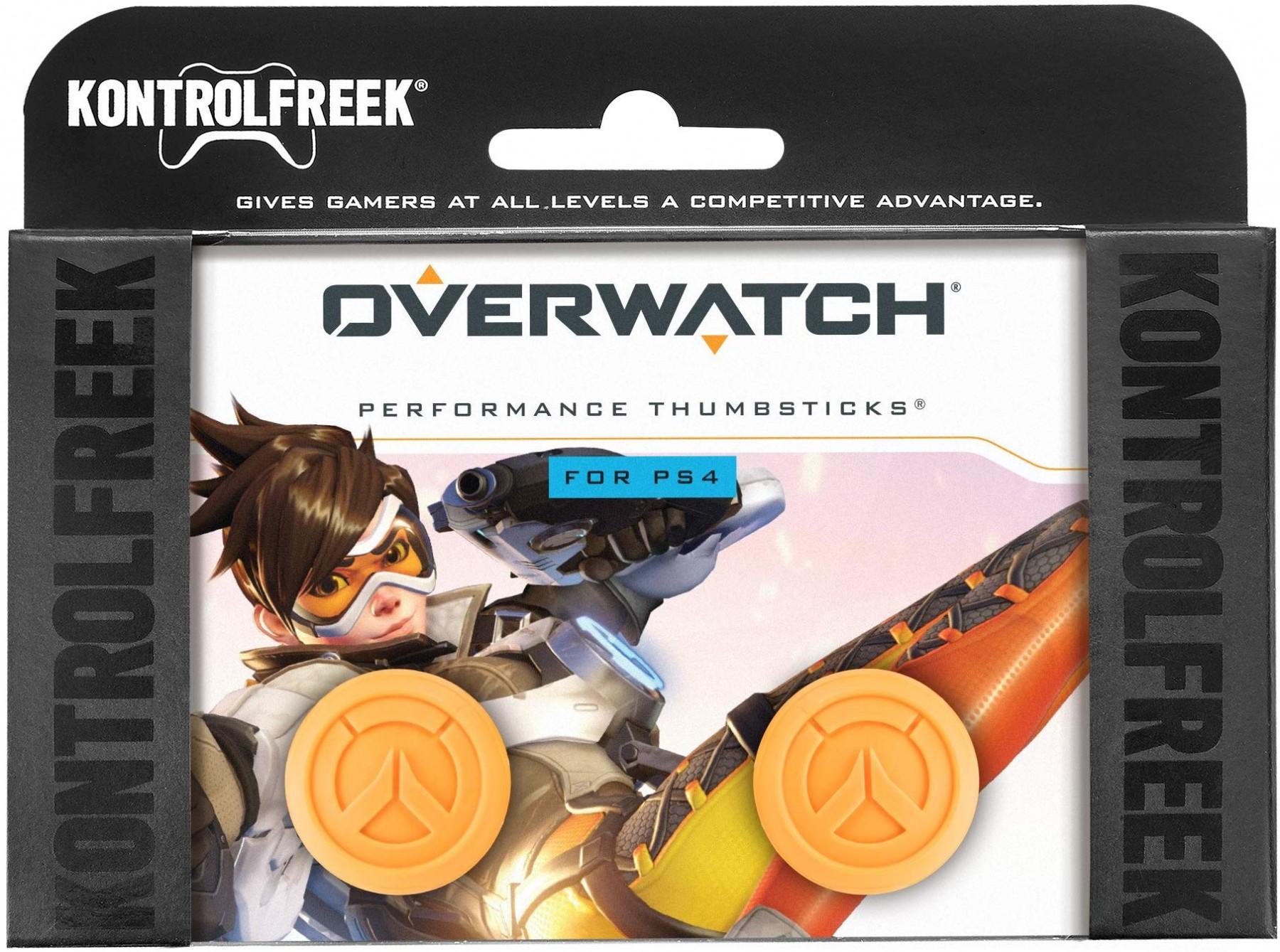 Overwatch KontrolFreek | Performance Thumbsticks | Накладки на стіки PS4/PS5