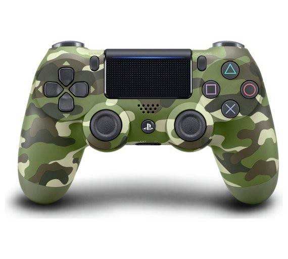 Бездротовий контролер/джойстик/геймпад DualShock 4 Wireless Controller Green Camouflage V2
