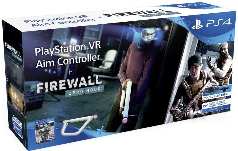 Sony PlayStation VR Aim Controller Firewall Zero Hour Bundle | Контроллер/джойстик/геймпад (только VR)