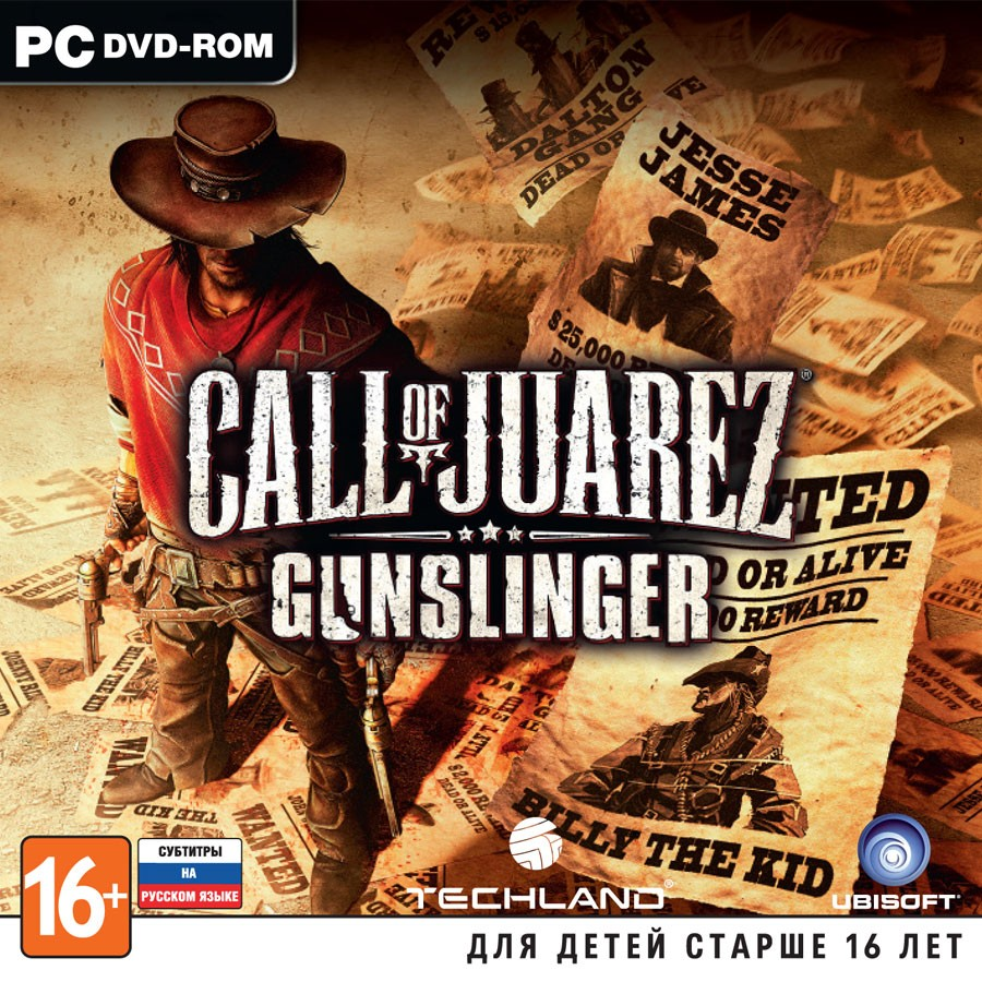 Call of Juarez: Gunslinger рос.