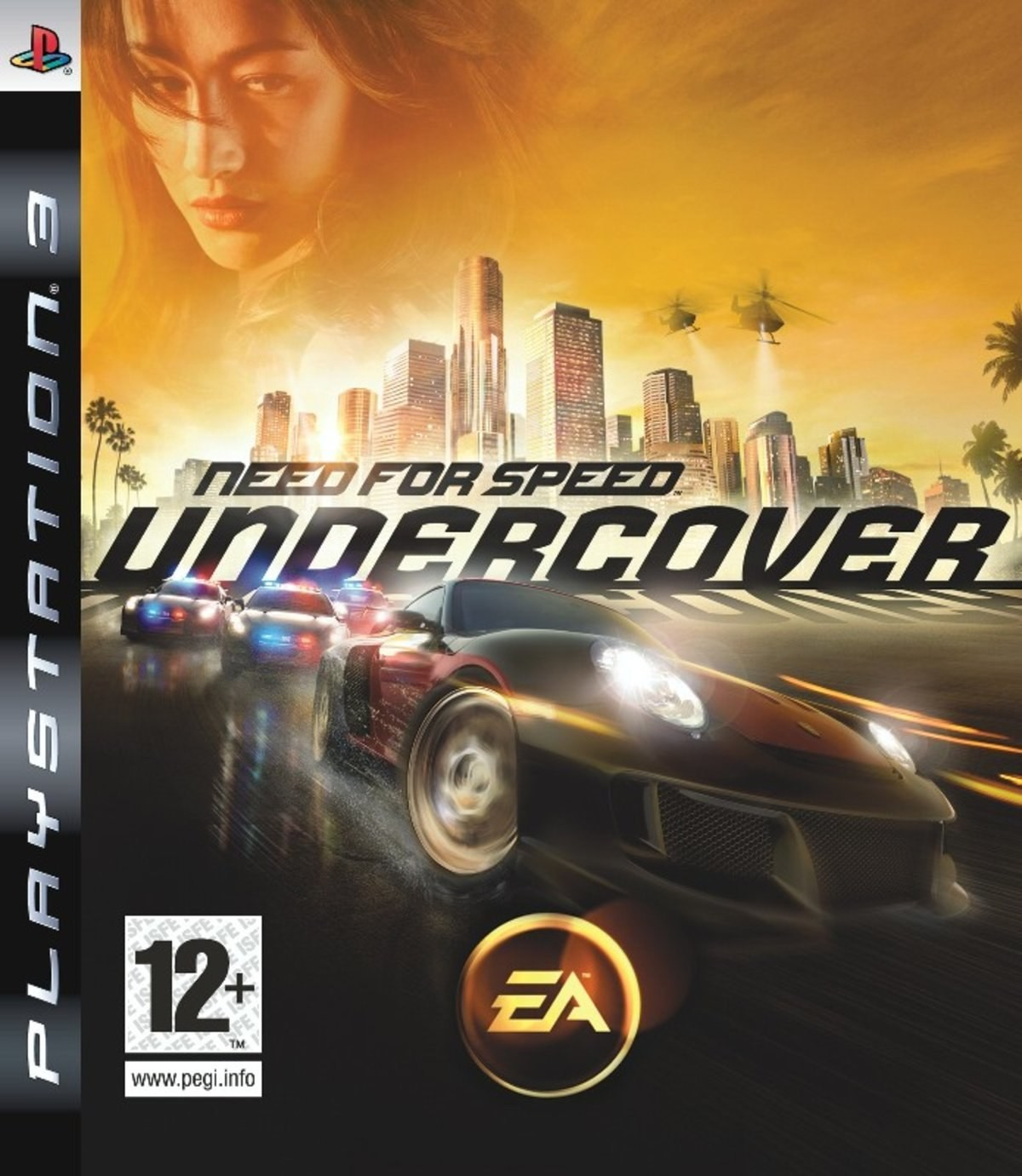 Need for Speed Undercover б/в PS3