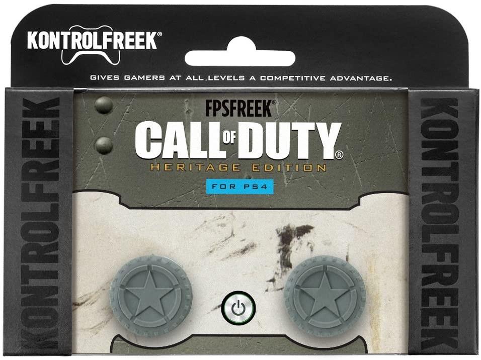 Call of Duty WWII Heritage Edition KontrolFreek | Performance Thumbsticks | Накладки на стики PS4/PS5