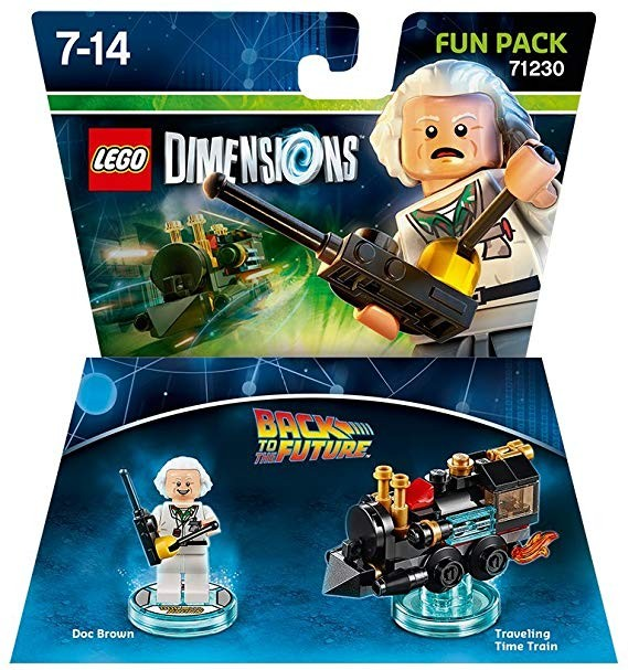 LEGO Dimensions Fun Pack Back to the Future (Doc Brown and Traveling Time Train) Назад у минуле | LEGO Виміри