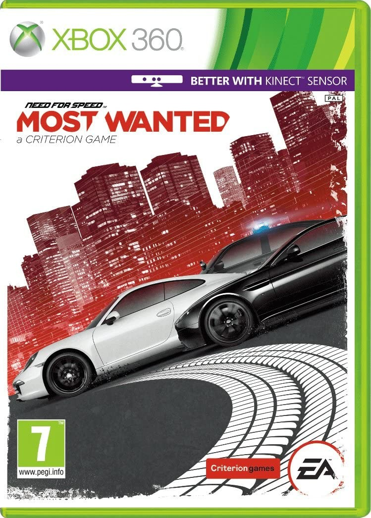 Need for Speed: Most Wanted X360