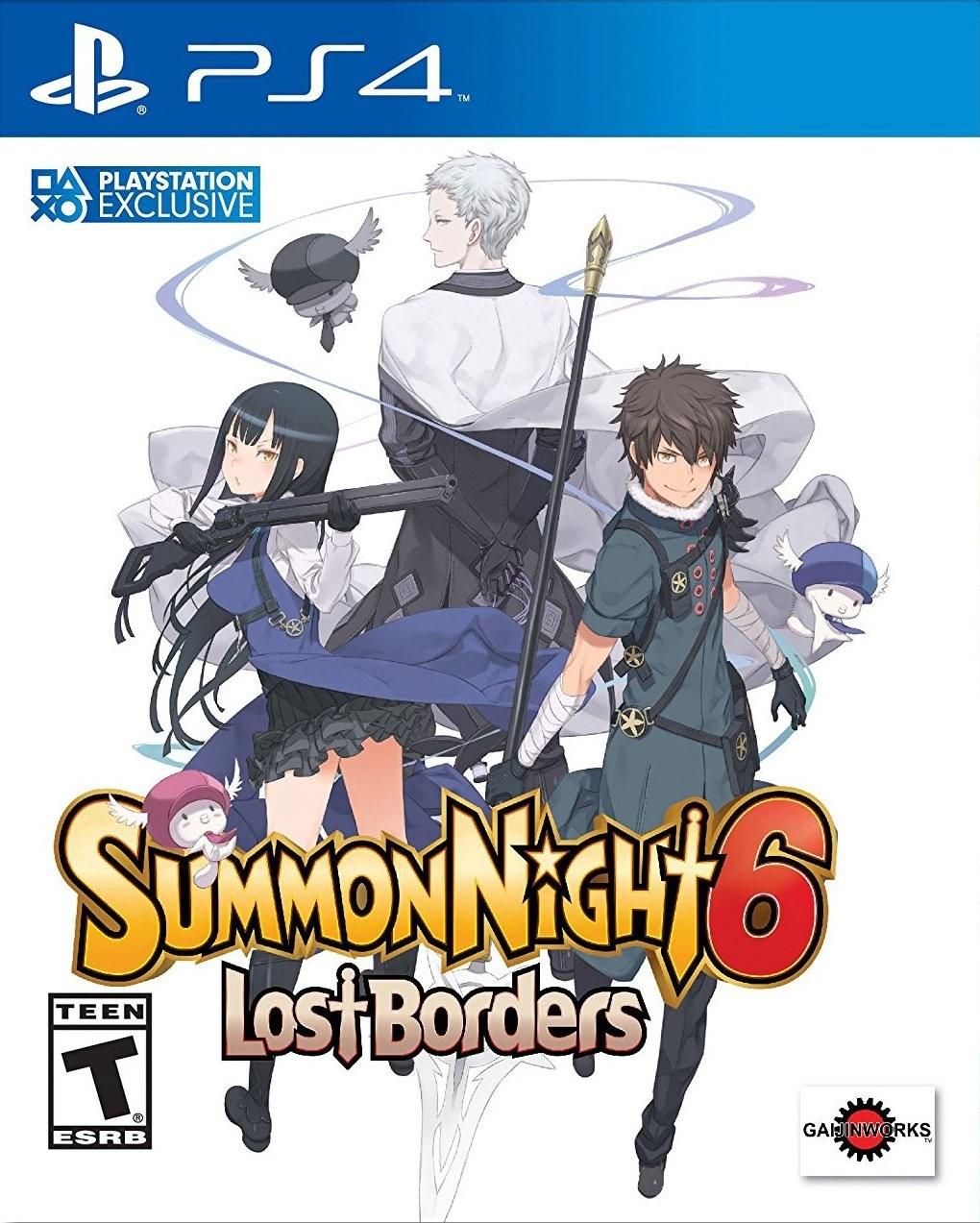 Summon Night 6: Lost Borders PS4