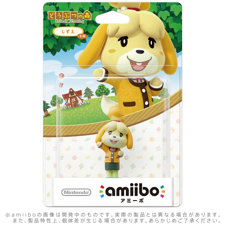 Super Smash Bros.: Інтерактивна фігурка amiibo - Isabelle Winter Outfit