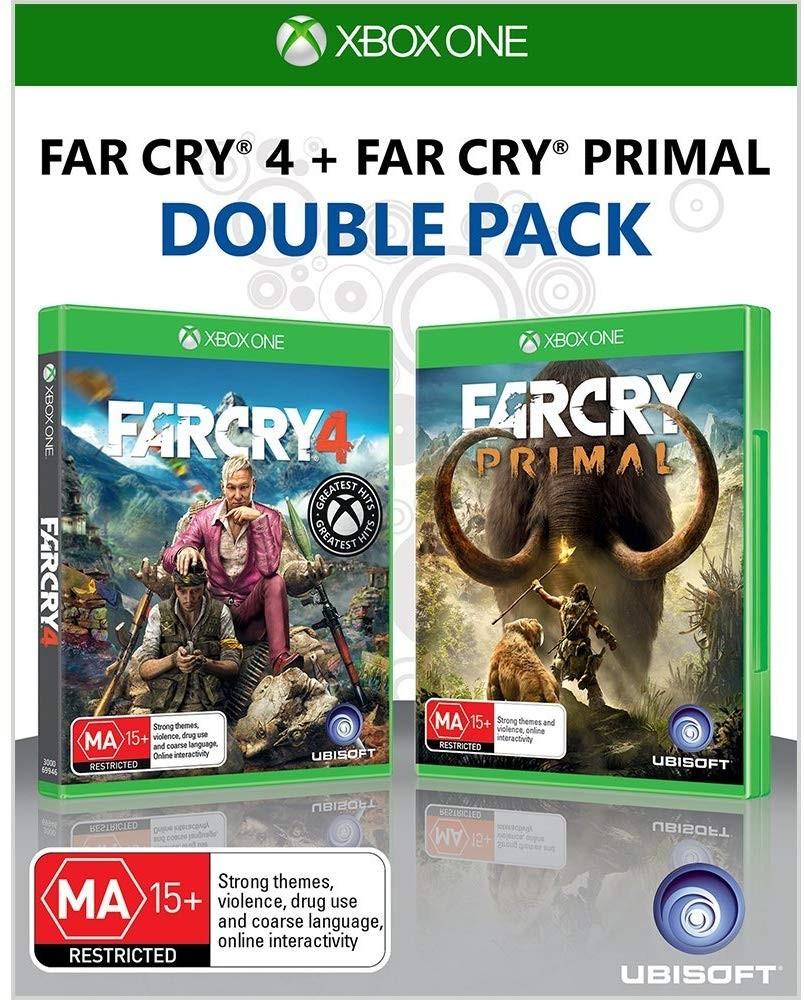 Комплект игр Far Cry 4 + Far Cry Primal XONE