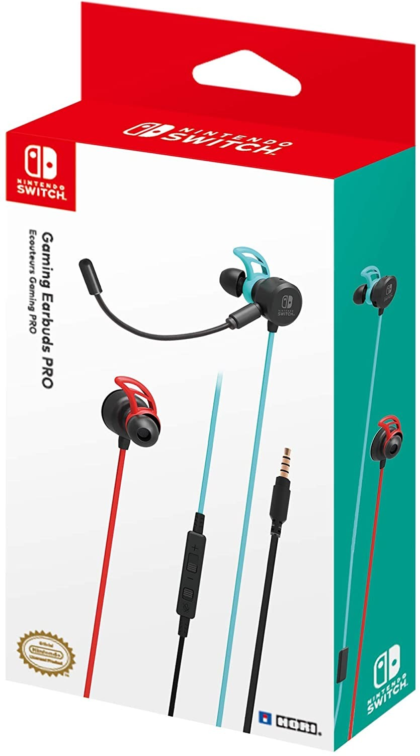 Наушники Nintendo Switch Hori Gaming Earbuds Pro With Mixer SWITCH