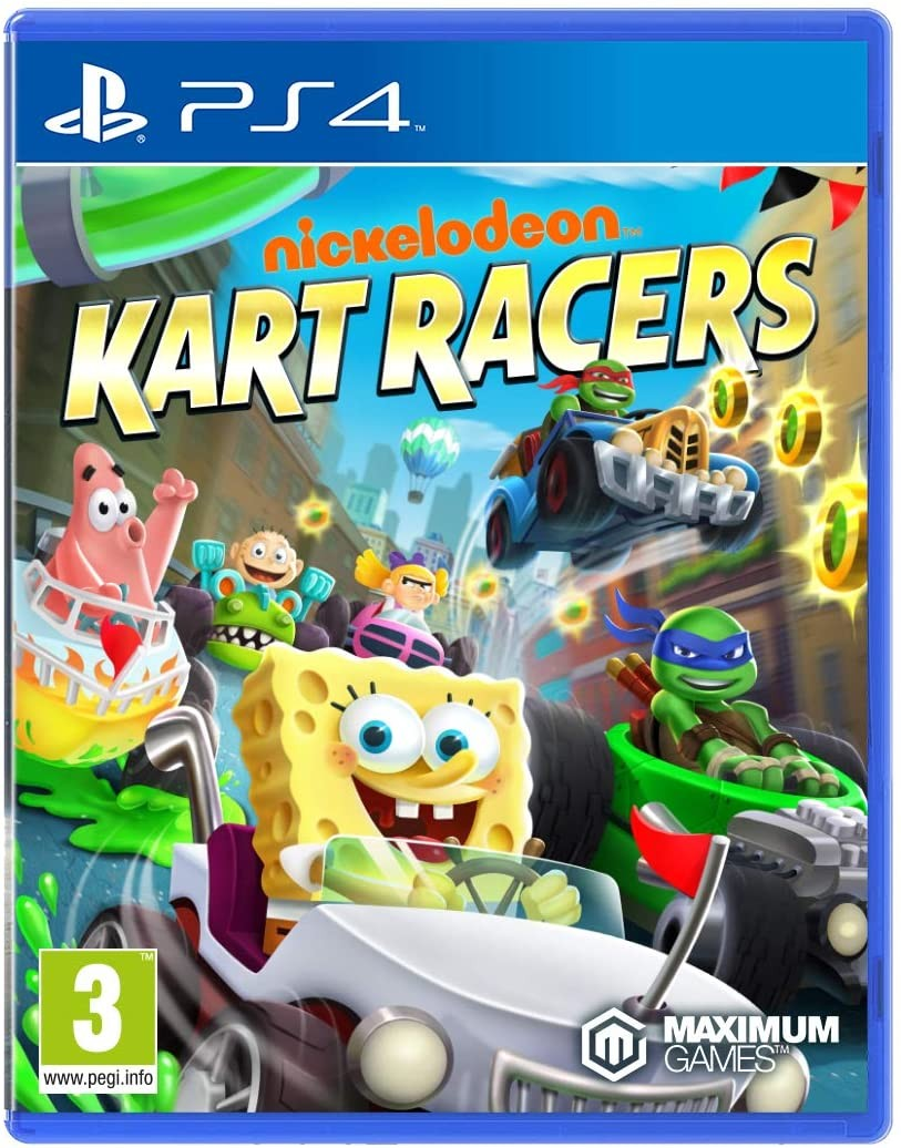 Nickelodeon Kart Racers б/у PS4