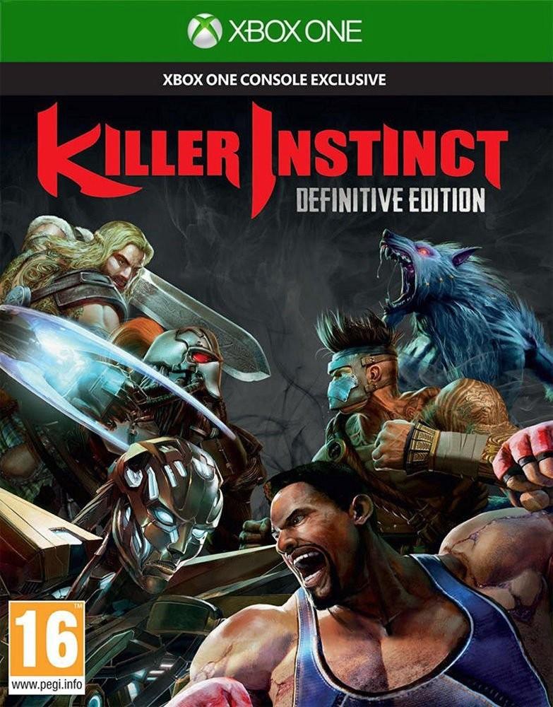 Killer Instinct Definitive Edition б/у XONE