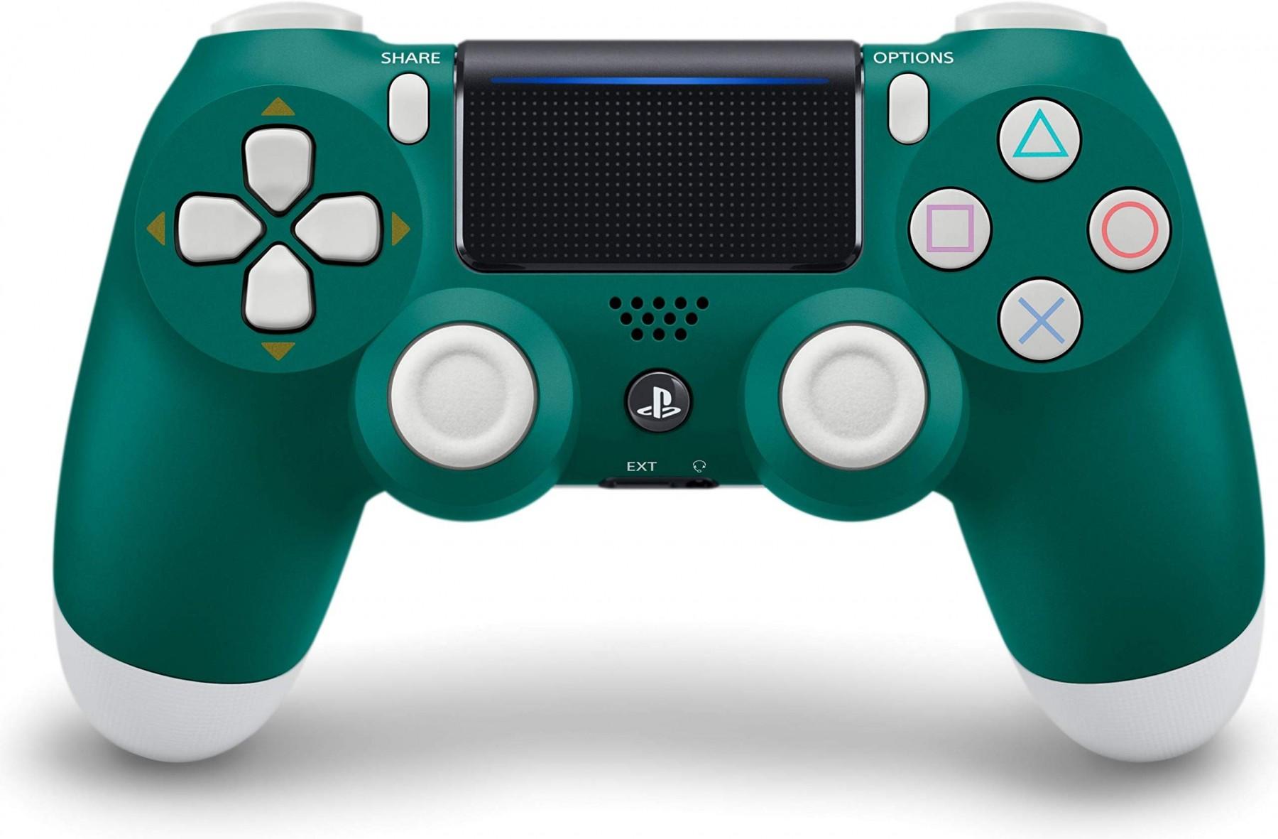 Бездротовий контролер/джойстик/геймпад DualShock 4 Wireless Controller Alpine Green V2