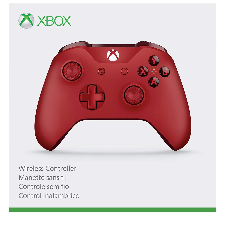 Бездротовий контролер/джойстик/геймпад Xbox ONE Wireless Controller Red (червоний)