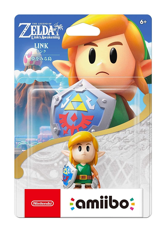 The Legend of Zelda: Link's Awakening. Интерактивная фигурка amiibo – Link