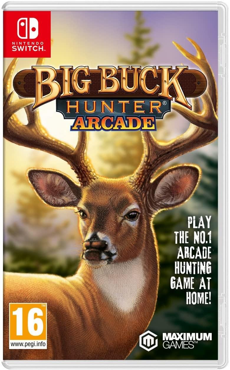 Big Buck Hunter Arcade SWITCH