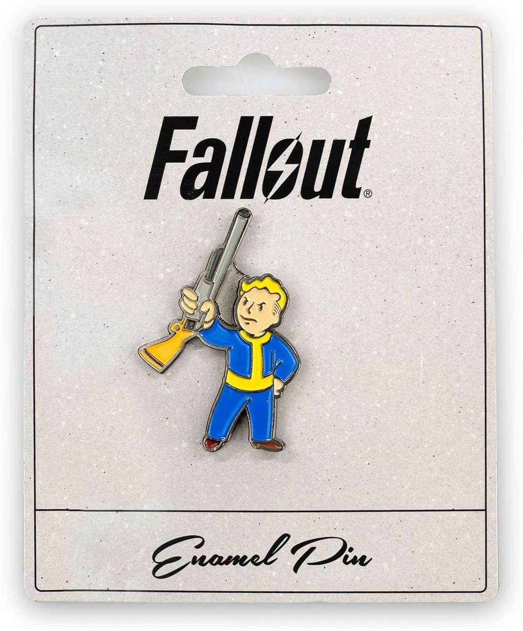 Fallout Basher Perk Pin | Small Metal Enamel Pin | Значок