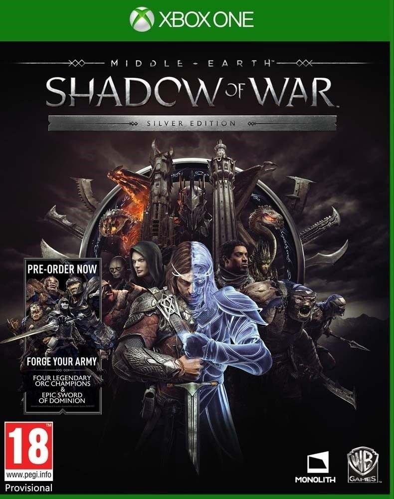 Середзем'я Тіні війни | Middle-earth Shadow of War Silver Edition XONE