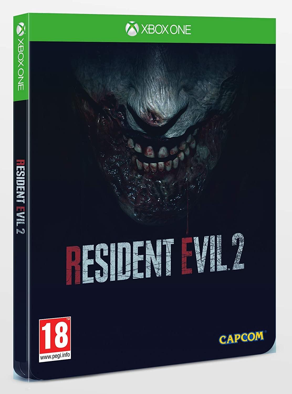 Resident Evil 2 Steelbook Edition | RE2 Steelbook Edition XONE