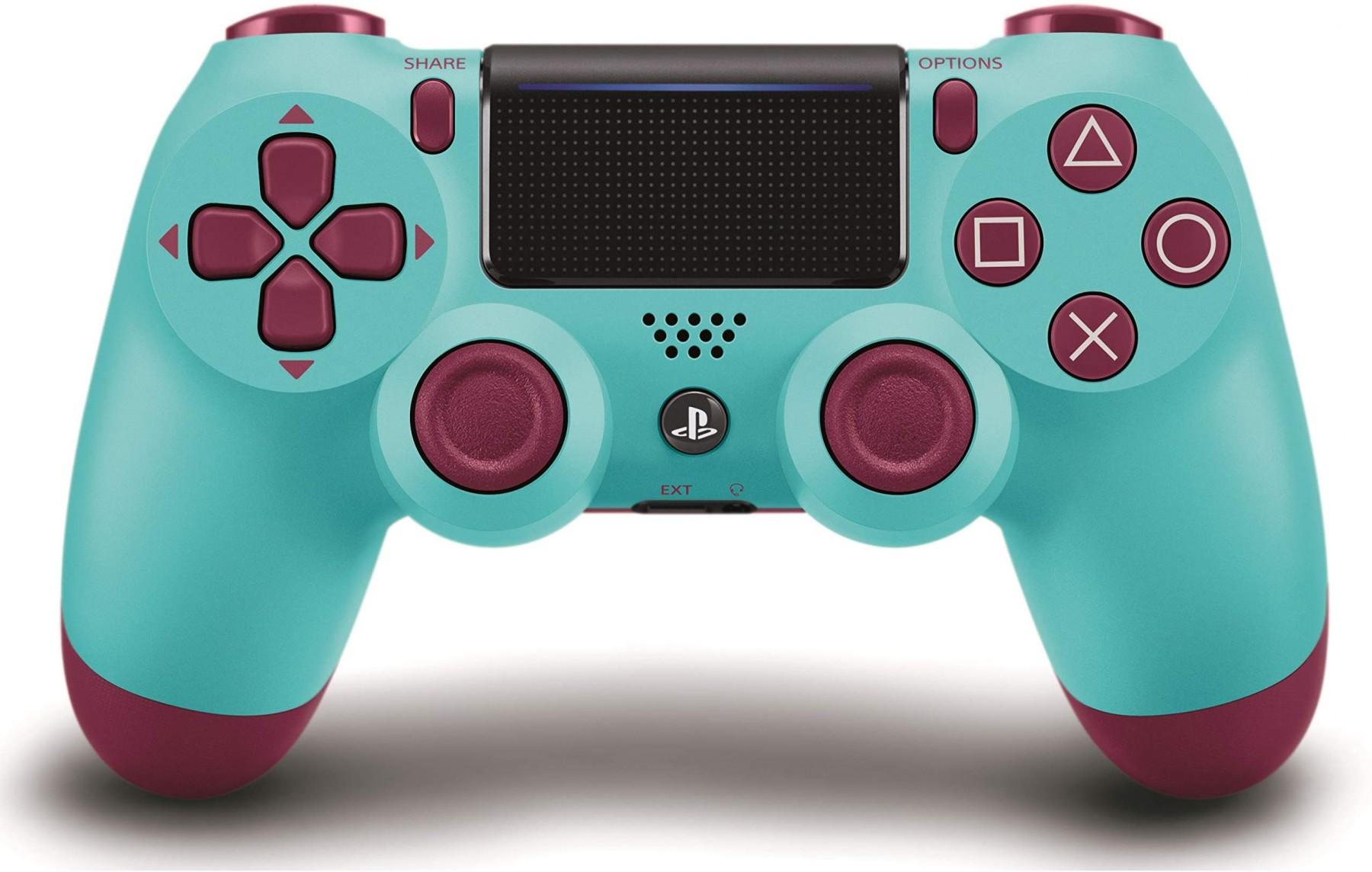 Бездротовий контролер/джойстик/геймпад DualShock 4 Wireless Controller Berry Blue V2