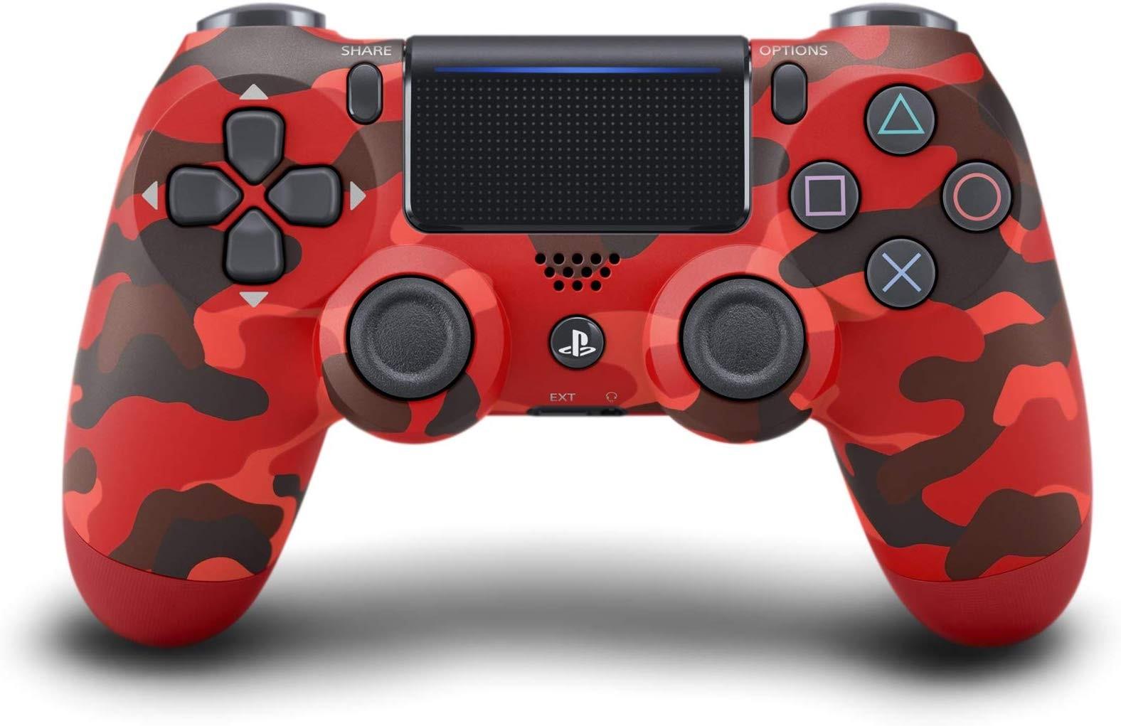 Беспроводной контроллер/джойстик/геймпад DualShock 4 Wireless Controller Red Camo V2
