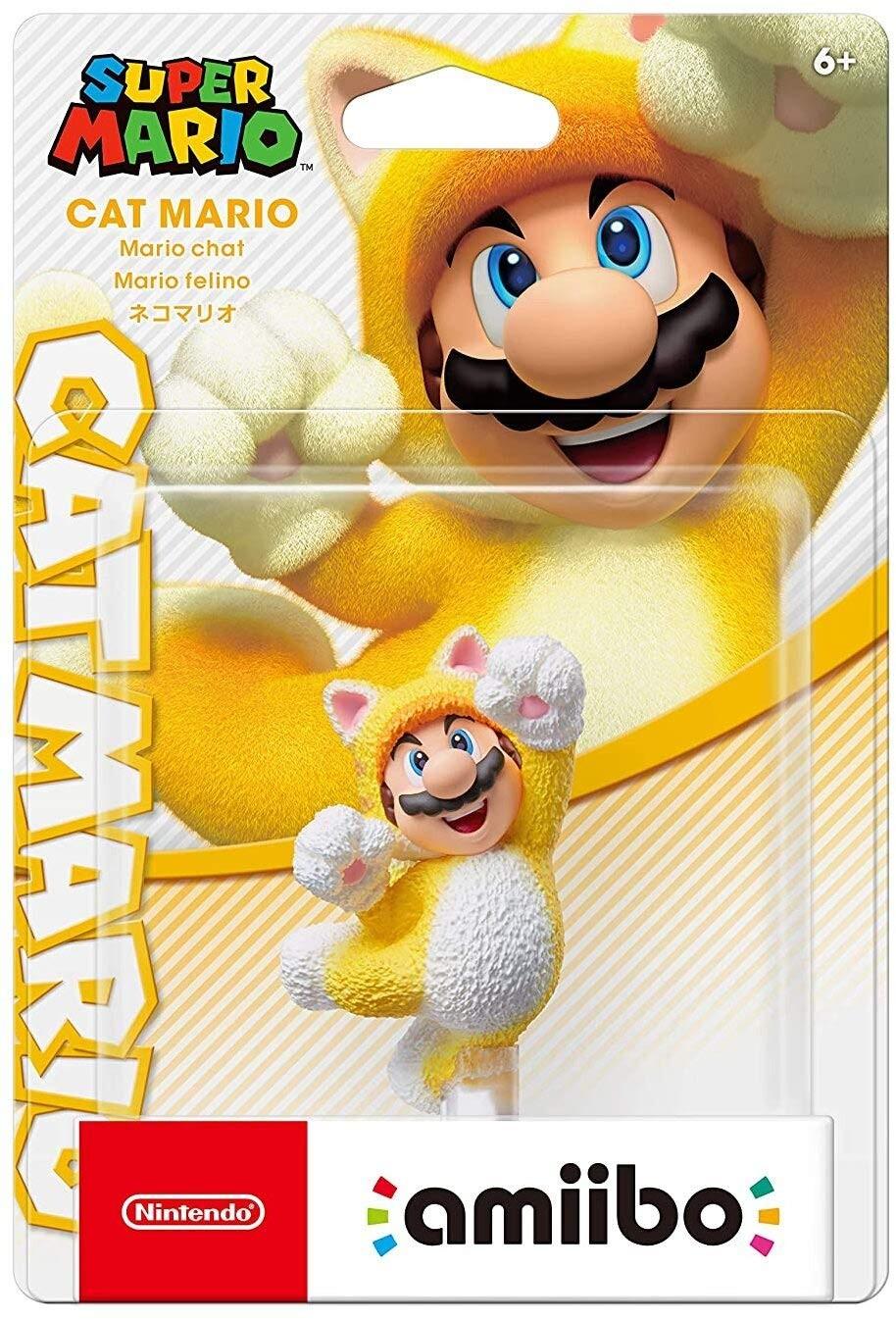 Super Mario Series: Интерактивная фигурка amiibo - Cat Mario