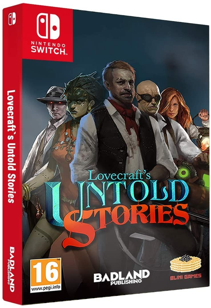 Lovecraft's Untold Stories - Collector's Edition SWITCH