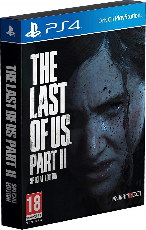 The Last of Us Part II Special Edition | Одні з нас Частина 2 Спеціальне Видання б/в PS4