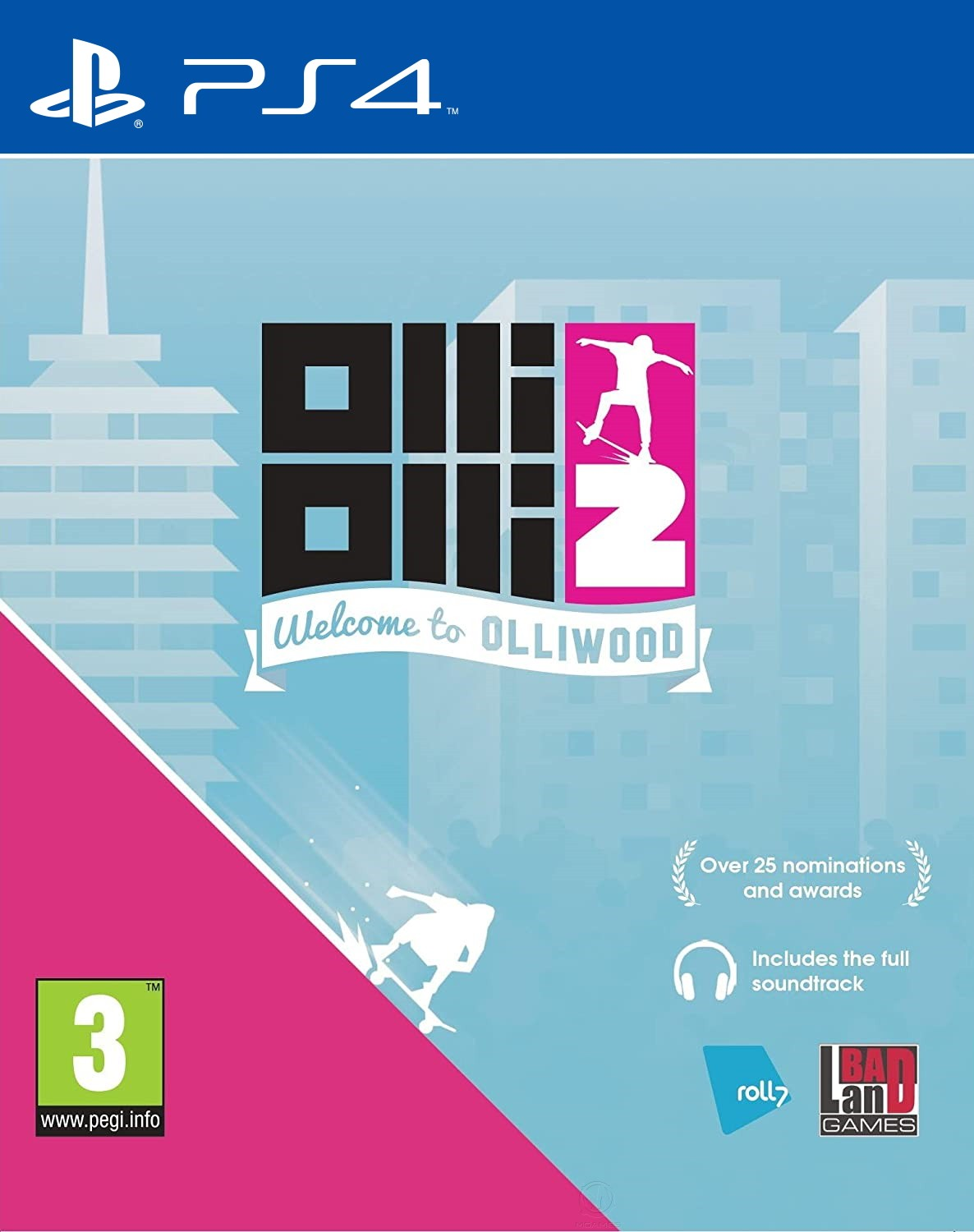 OlliOlli2 Welcome to Olliwood PS4